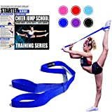 Cheerleading Flexibility Stunt Strap - Improve Stretching and Perfect Stunts for Cheer, Dance, and Gymnastics - Digital Training Download and Starter Guide - Available in 7 Colors (Royal)