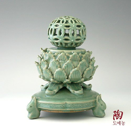 Célèbre Encensoir Céramique 12ème Siècle Encens Trésor National de Corée