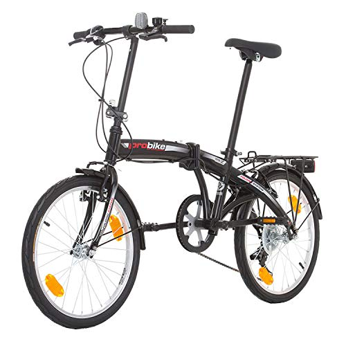 Multibrand PROBIKE Folding 20 Zoll Klapprad, Faltrad, Shimano 6 Gang, Herren-Fahrrad & Jungen-Fahrrad, geeignet ab 155 cm - 185 cm - 5