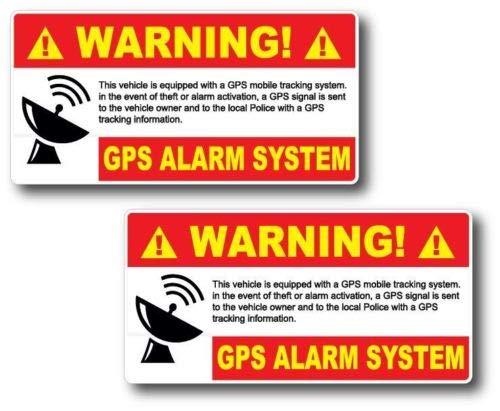auto alarm decals - 9