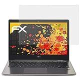 atFolix Panzerfolie kompatibel mit Fujitsu Lifebook U904 Schutzfolie, entspiegelnde & stoßdämpfende FX Folie (2X)