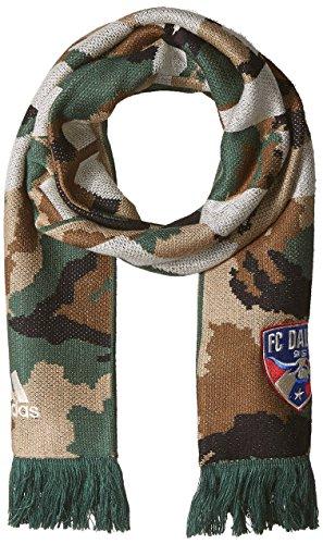 MLS FC Dallas Adult Jacquard Scarf, One Size, Camo