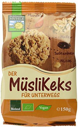 Bohlsener Mühle Müsli-Keks, 6er Pack (6 x 150 g)