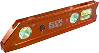 Lighted Level, Magnetic Torpedo, 3 Vial, V-Groove and Magnet Track Klein Tools 935RBLT