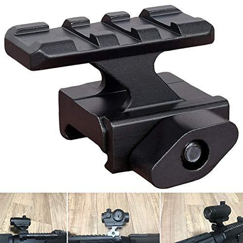 RimFly Rail Picatinny Elevador Rifle y Armas con Riel 20mm Tactico Ajustable para Airsoft Adapatador Weaver Soporte Miras Telescopicas con Carril Handguard Keymod Montaje de Alcance