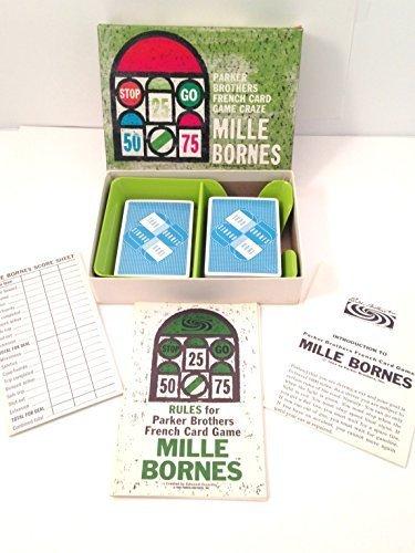 Vintage Mille Bornes Game 1964