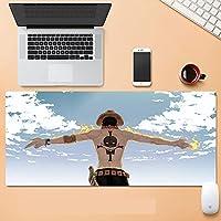 かわいい900x400mmラバー超大型PCマウスパッドゲーマーゲーミングアニメマウスパッドXLXXLデスクキーボードマットコンピューターラップトップワンピース-A_900x400x3mm