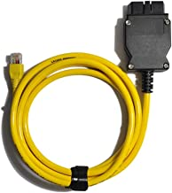 XKX Automotive Tools for BMW ENET Ethernet to OBD Interface Cable E-SYS ICOM Coding F-Series with CD