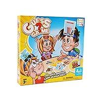 私が誰だかを推測するカードゲーム-家族推測ゲーム、古典的な推測推測脳ティーザーカード子供家族ゲーム、子供のための屋内楽しい推測ボードゲーム
