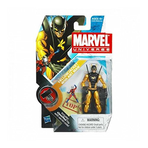 Marvel Universe Yellow Jacket with Ant Man 3-3/4 Inch Scale Action Figure image