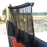 WXQYR 2 unids/Set Ventosa Coche sombrilla Cortina UV protección Escudo Sun Shade Visera para Smart 451 453 Auto Suministros Car Styling