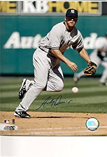 Autographed Photo Andy Phillips New York Yankees