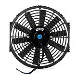 LCBIAO® De alta potencia de 12 pulgadas climatizador de automóvil tanque de agua ventilador electrónico empacadora modificado coche ventilador de refrigeración camión refrigerado. Más vendido