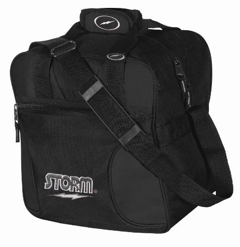 Storm Solo Bowling Bag (1-Ball), Black by Storm