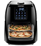 Chefman 6.3 Quart Digital Air Fryer+ Rotisserie, Dehydrator, Convection Oven, 8 Touch Screen Presets...