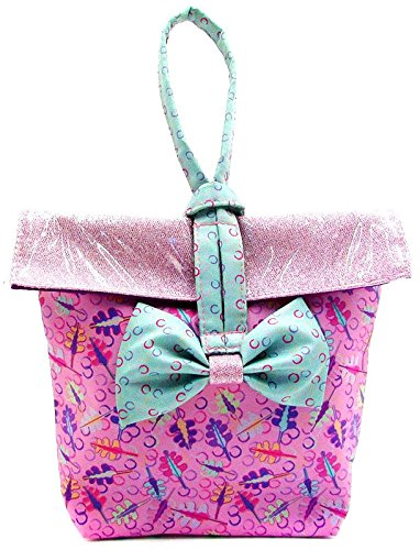 Distroller Neonate Nerlie Baby Diaper Bag Pink Glitter - Edition in Spanish