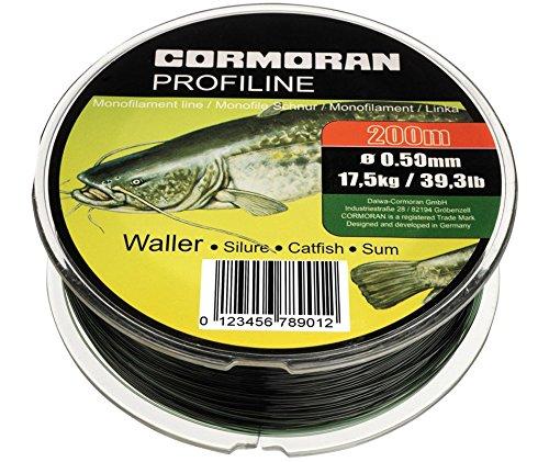 Cormoran Profiline Waller schwarz 0.50mm 17.5kg 200m