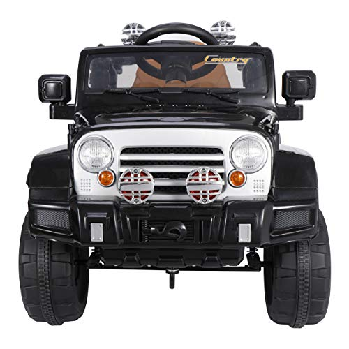 ZENY Kids Ride On Truck,Electric Ride On Car with Remote Control,Music Player,LED Lights,12V Battery Powered Children's Electric Ride on Toy Vehicles