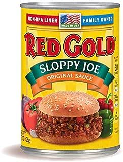 red gold sloppy joe