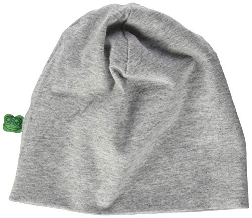 Fred's World by Green Cotton Baby-Boys Alfa Beanie Hat, Pale Greymarl, 80/86