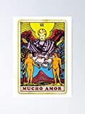 Mucho Amor Tarot Card Poster