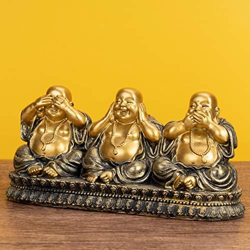 Figura decorativa de 3 Budas – Nada oír, Nada vista, Nada dice...