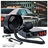 Xprite 8 Tones 200 Watt Emergency Warning Siren Extra Slim Speaker PA System Kit...