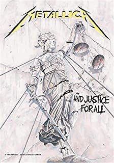 Metallica and Justice for All Textile Poster / Flag