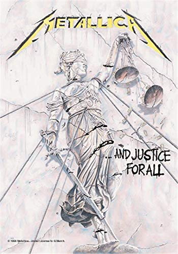 Metallica - Justice For All Flagge