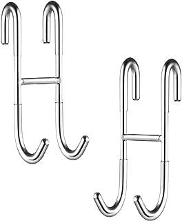 serie Univ. Avenarius soporte para mampara de ducha; Con 4 ganchos para 6,8,10 mm