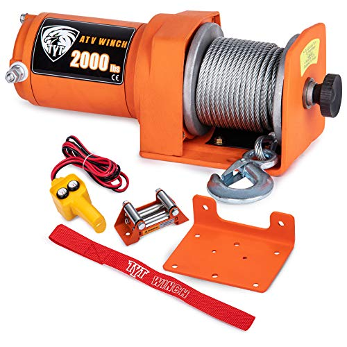 TYT New 2000 lb. Load Capacity Electric Winch