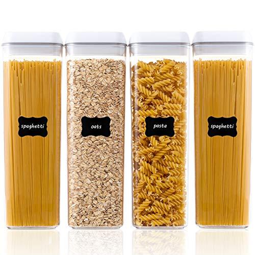Airtight Food Storage Containers, Spaghetti