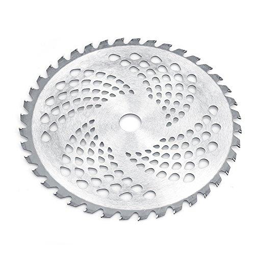 Kreissägeblätter, 40T Sharp Hartstahl Schneidmesser Freischneider Esser Gras Rasenmäher Trimmer Werkzeug