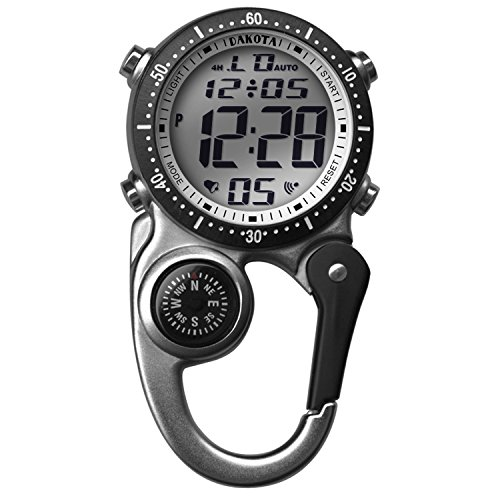 Dakota Watch Co Company Digi Clip Watch 5000058-SSI