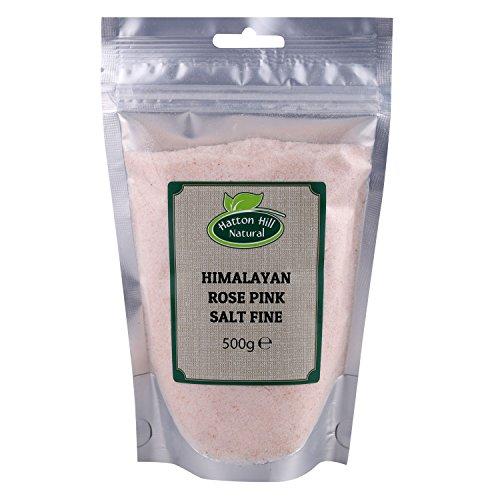 Rosa del Himalaya Sal Rosa Fina 500g de Hatton Hill