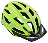 Schwinn Beam LED Lighted Bike Helmet with Reflective Design for Adults, Featuring 360 Degree Comfort System with Dial-Fit Adjustment, Viz Yellow
