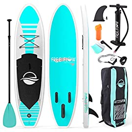 SereneLife Inflatable Stand Up Paddle Board (6 Inches Thick) with Premium SUP Accessories & Carry Bag | Wide Stance… 12 SereneLife Inflatable Stand Up Paddle Board