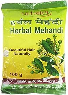 Patanjali Herbal Mehandi for Hair - 100g