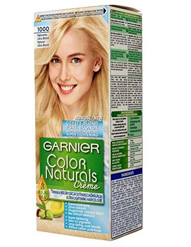 GARNIER - COLOR NATURALS Creme - Permanent, nourishing hair coloring - 1000 Natural Ultra Blonde