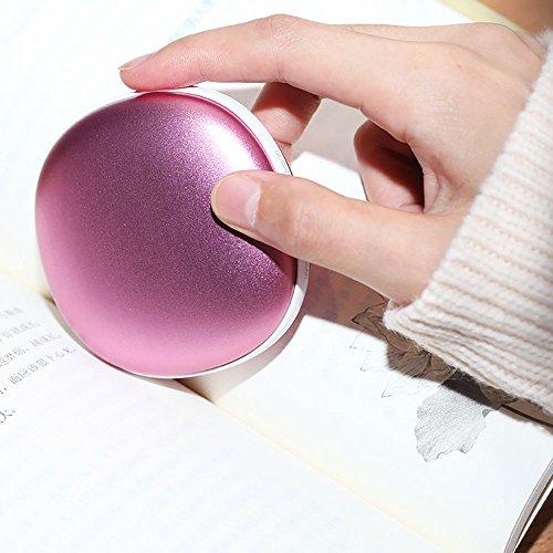 LJHA Mini forma de piedra creativa Tesoro de mano caliente Tesoro a prueba de explosiones Tesoro eléctrico USB Fuente de alimentación móvil (Color : A)