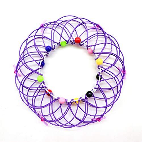 Yagerod 1Pcs Mandala Flower Basket Toy, Magic Mandala Flower Basket Toy Transforming 36 Shapes, for Kids Adults Creative Stress Reliever Toys E
