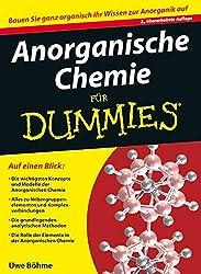 Anorganische Chemie für Dummies Buch