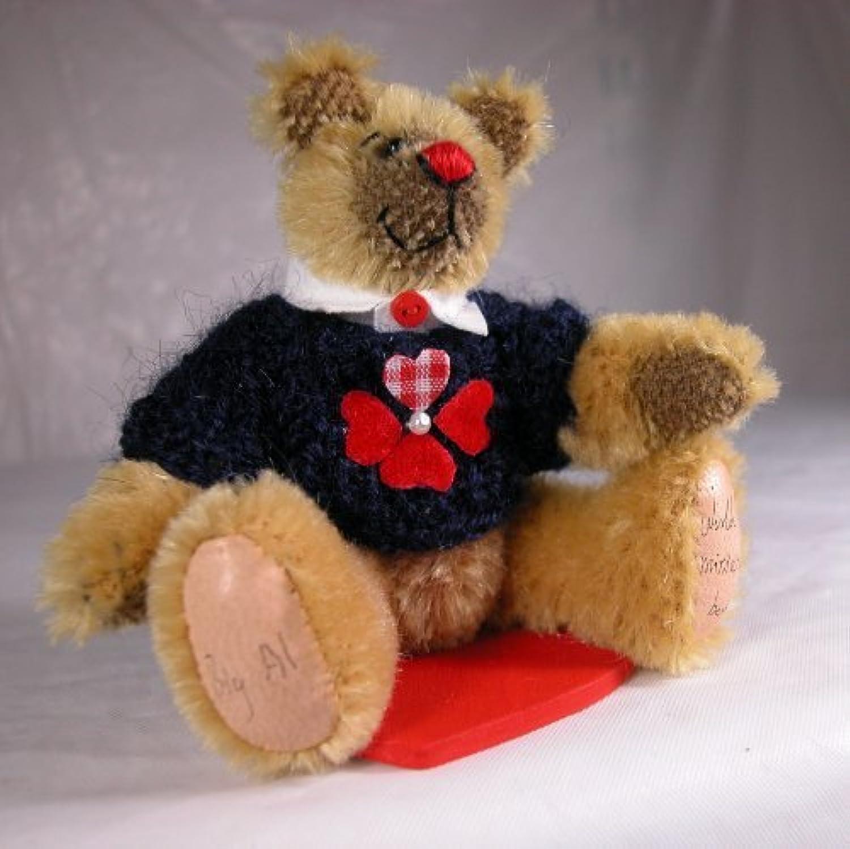 World of Miniature Bears 3.75 Mohair Bear Big Al  1049 Collectible Miniature by World of Miniature Bears