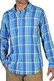 EXOFFICIO BugsAway Talisman Plaid L/S Camisa Anti-Insectos, Hombre, Multicolor (Malibu), XL