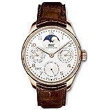 iwc portugieser iw503302 - orologio da uomo con calendario perpetuo