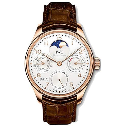 Orologio da uomo IWC Portugieser, con calendario perpetuo e indicazione delle fasi...