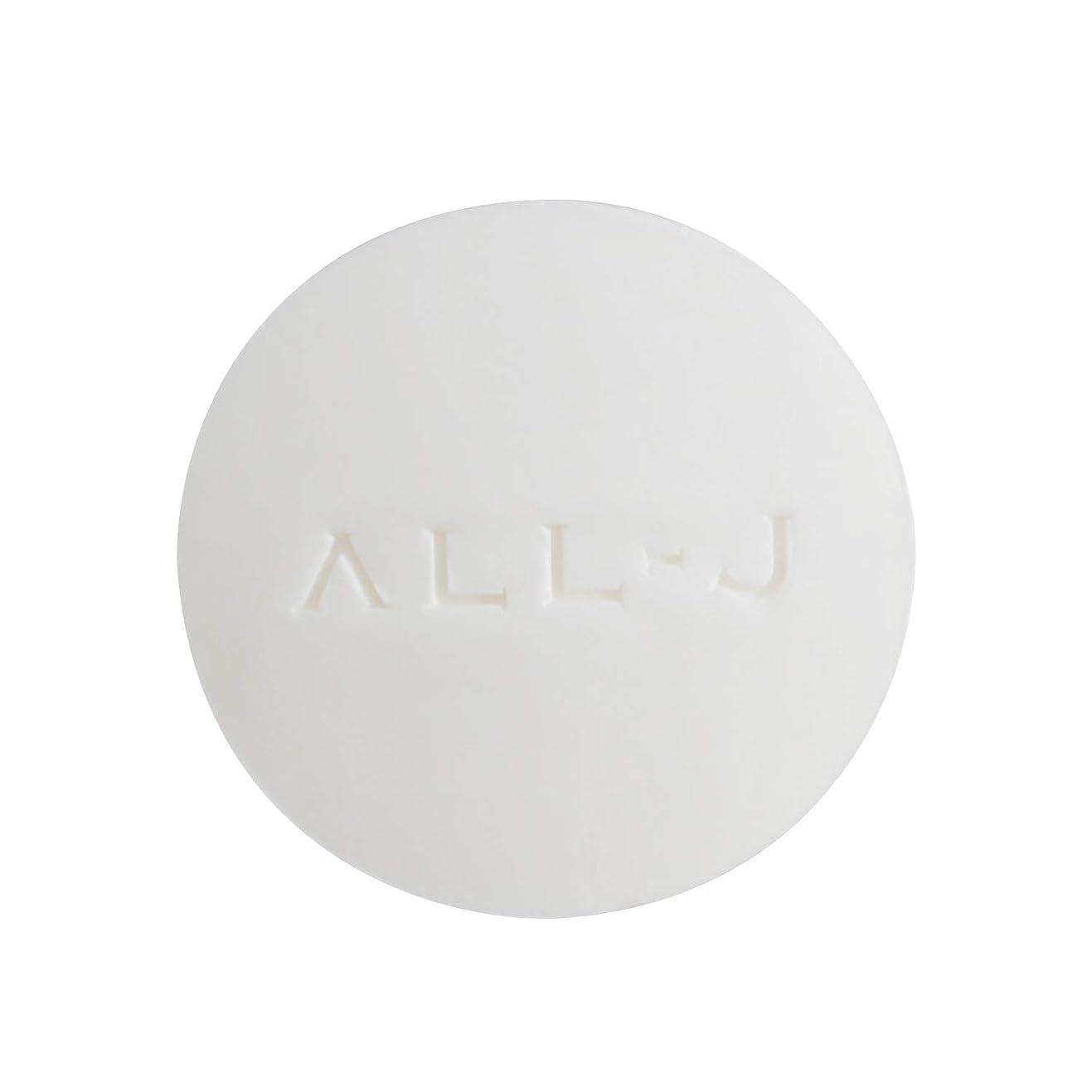売るスクリュー統合ALL-J (オールジェイ) 洗顔石鹸 スムースリッチスキン フェイシャルソープ 60g 黒ずみ 毛穴ケア