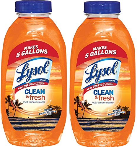 Lysol Clean & Fresh Multi-Surface Cleaner, Hawaii Sunset 10.75 oz