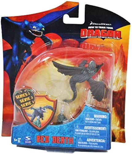 How To Train Your Dragon Movie 4 Inch Series 3 Action Figure rot Death