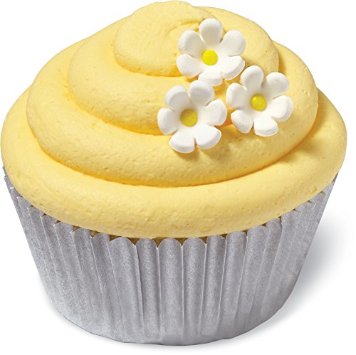 Wilton 32 Count Daisy Mini Icing Decorations, Assorted